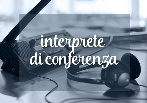 Inteprete Di Conferenza